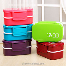 Leakproof Customized Plastic Bento Lunch Box for Children