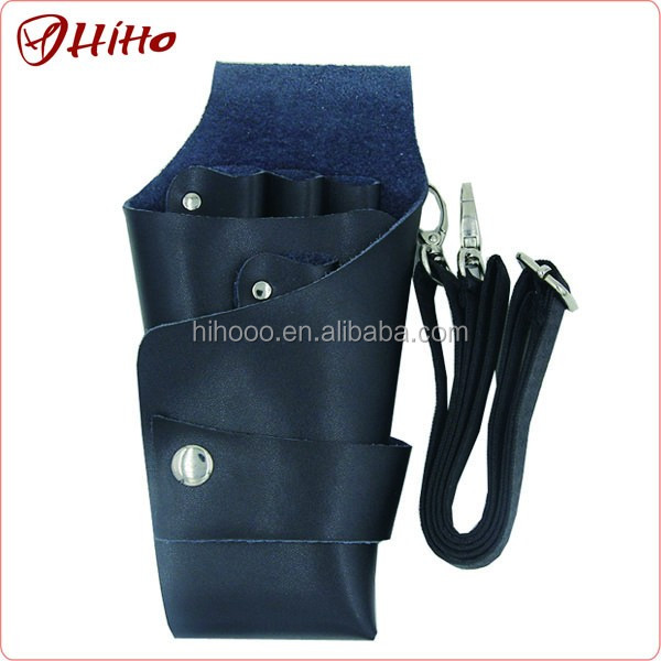 Personalized Hairdresser Scissor Leather Belt Clip Holster Pouch Case