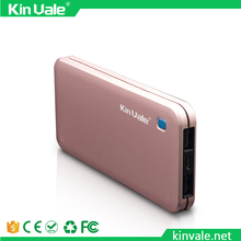 Kinvale Dual USB Power Bank 10000mah Mobile Phone Charger For Smartphones