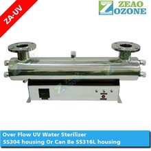 Ultraviolet water filter UV light sterilizer for RO water plant