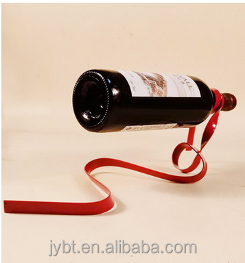 magic ribbon wine rack china modern allah metal sculpture home decoration arabic