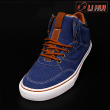 Canvas PVC Cotton Fabric Lace-Up Slip-On Autumn Summer Footwear/men casual shoes
