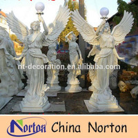 Snow white garden large resin angel statue NTRS464A