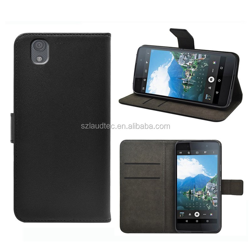 New arrival smart wallet flip case for Blackberry DTEK50, leather case with money pocket card slot for Blackberry DTEK50