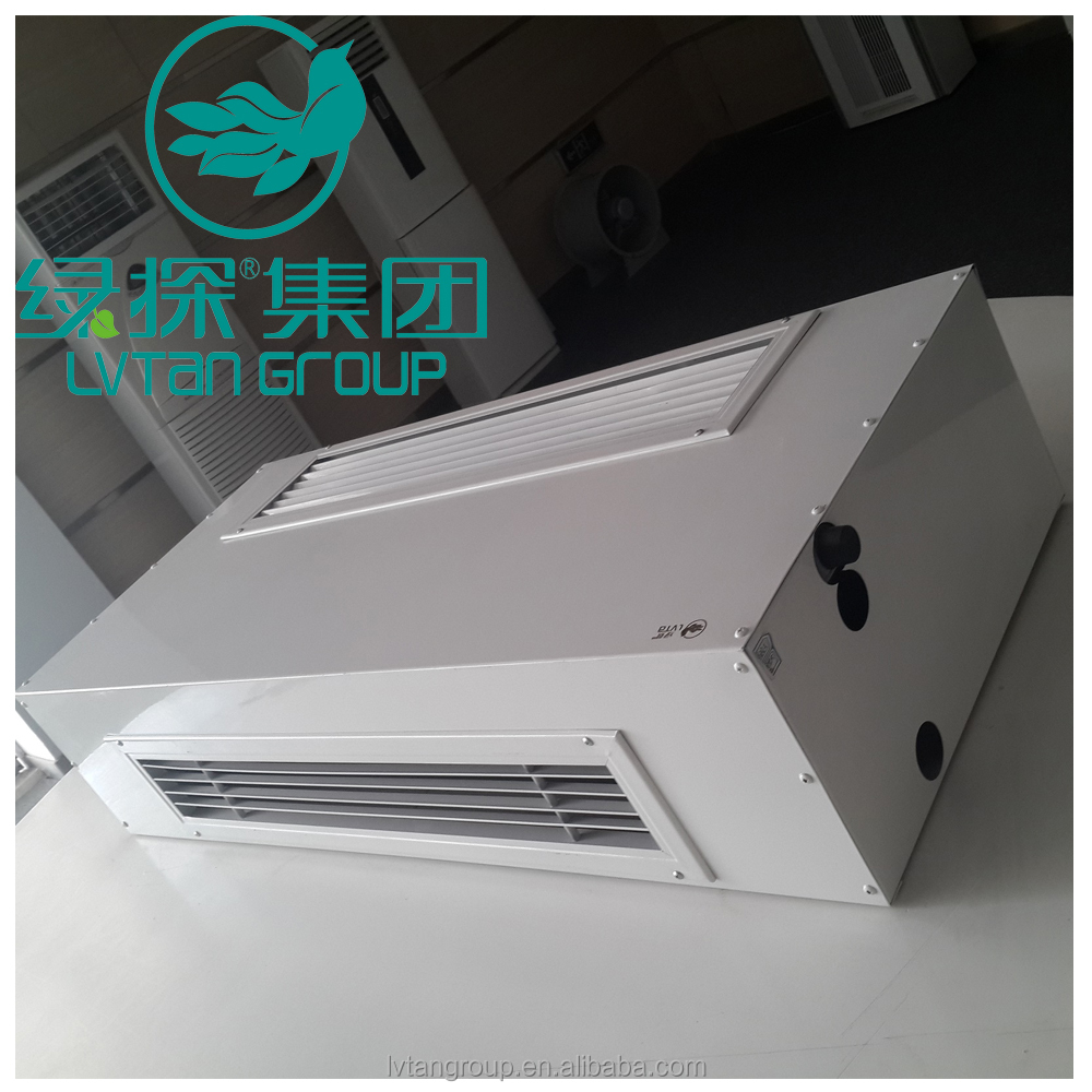chilled water fan coil/duct ceiling fan coil unit/horizontal concealed fan coil