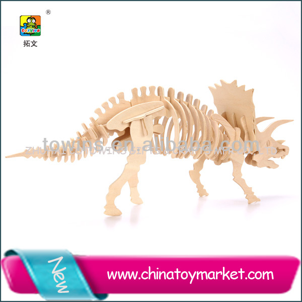 Toywins anchiceratops educational eva toys child toy puzzle vehicle play set