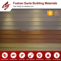 Waterproof materials/wood grain External siding board /colorized fiber cement wall panel