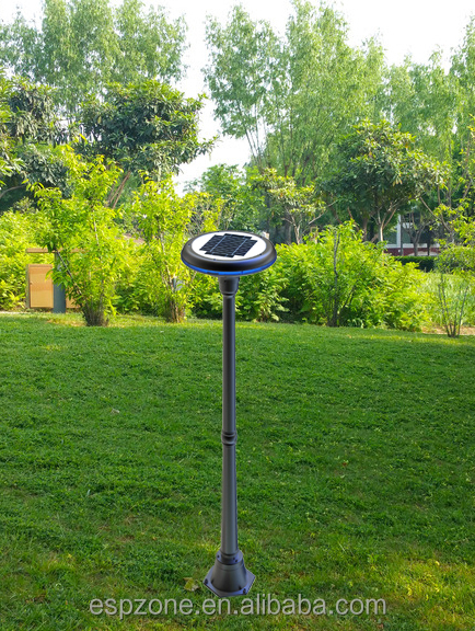 China manufacturer solar gate post pillar light for garden manufactured in China