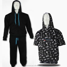 wholesale plain hoodies,men's short sleeve pullover hoodie