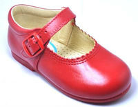 Dress girl shoe genuine leather Spanish shoe