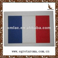 national flag paper air freshener for car, hanging car air freshener