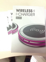 New universal QI standard wireless charger compatible to all mobile phone standards wireless charging without any cables