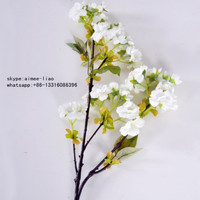 Q082002 cherry blossom branches wholesale artificial cherry blossom branch