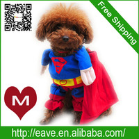 M Size Pet Dog Winter Clothes Change Superman Lincarnations Loaded Jumbo Factory Produce Fast Shipping