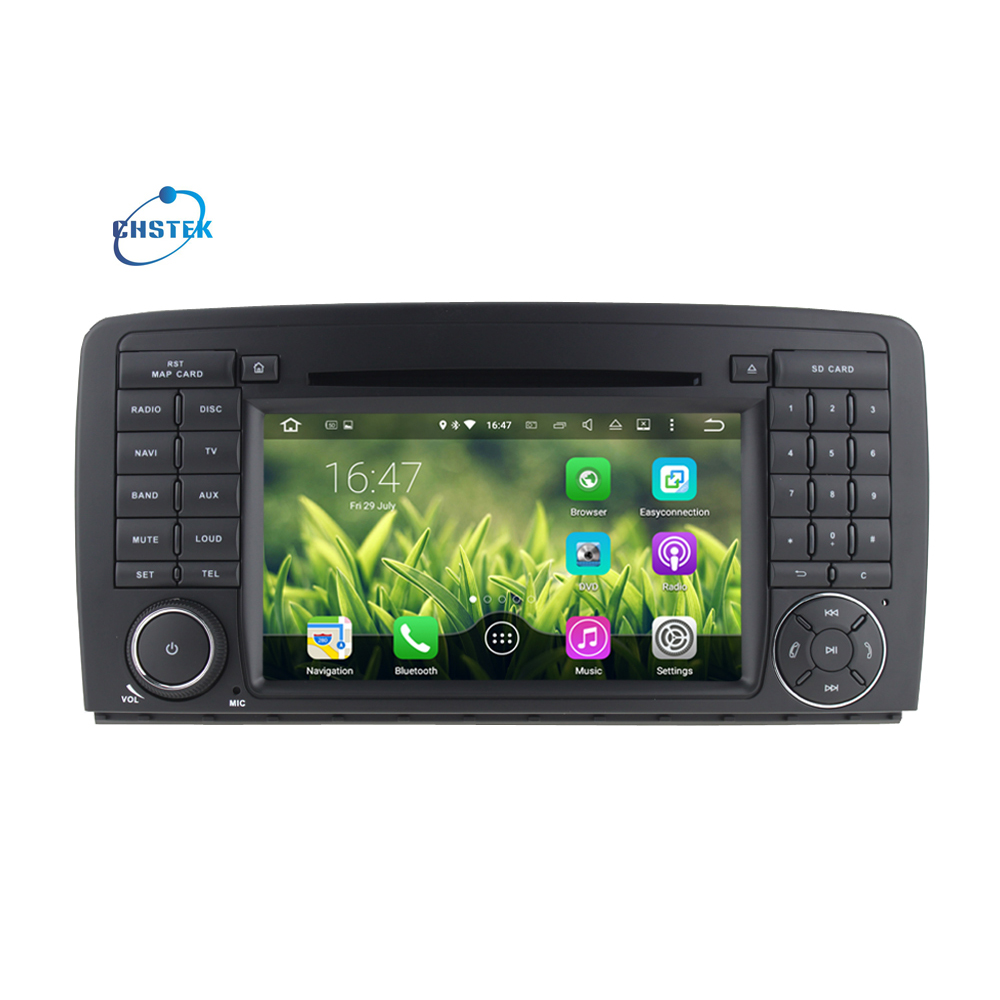 Android 7.1 Car DVD Player for Mercedes/Benz R-W251/R280/R300/R320/R350/R500(2006-2012) with WiFi GPS Radio