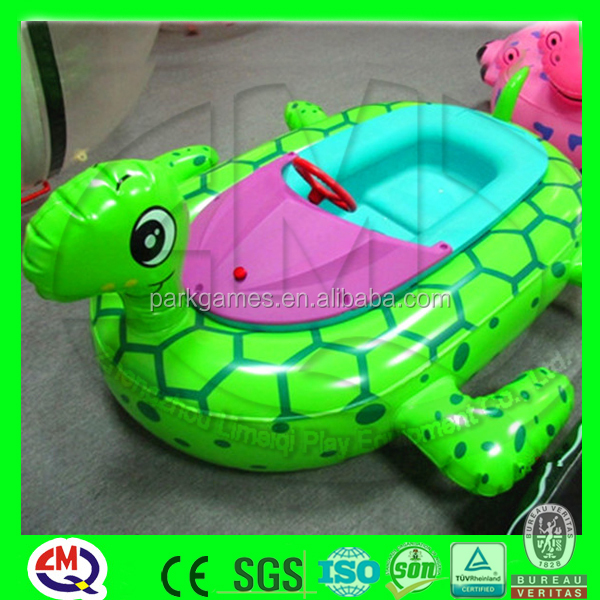 Discount!!! Kids play rides inflatable paddle boats