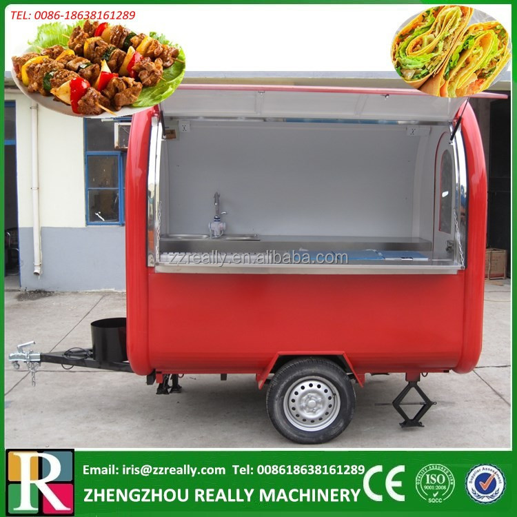 Best Price Ice Cream Cart/Catering Trailer For Sale