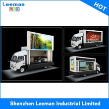 truck mounted ph8 solar powered trailers led emotion display for car