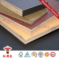 China best products bamboo plywood for concrete block with price Red Kapok