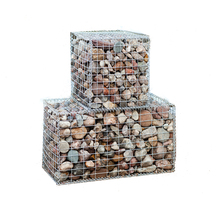 Hot dipped galvanized Welded Gabion box /basket from Chinese supplier
