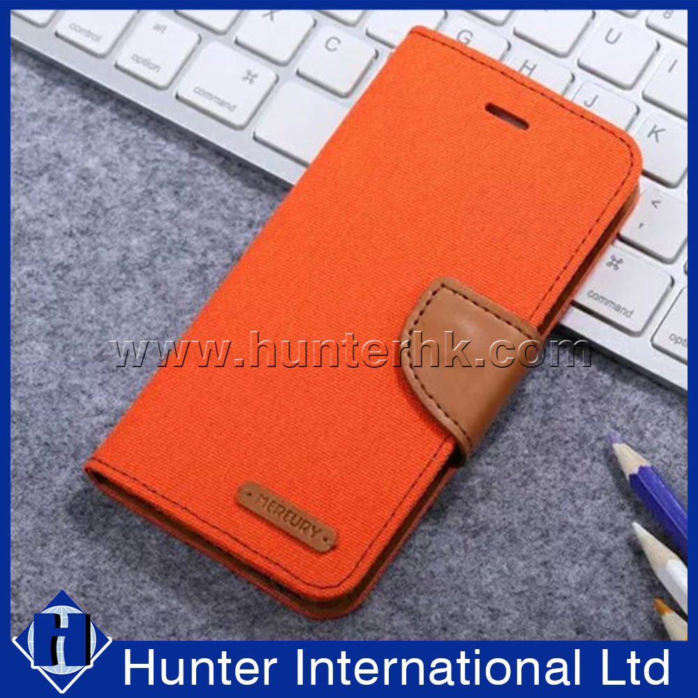 PU Leather Mobile Phone Cover For MICRO MAX Q350