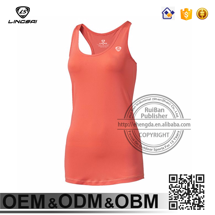 Quick Dry Women vest Gym Sport Running ladies sleeveless garment