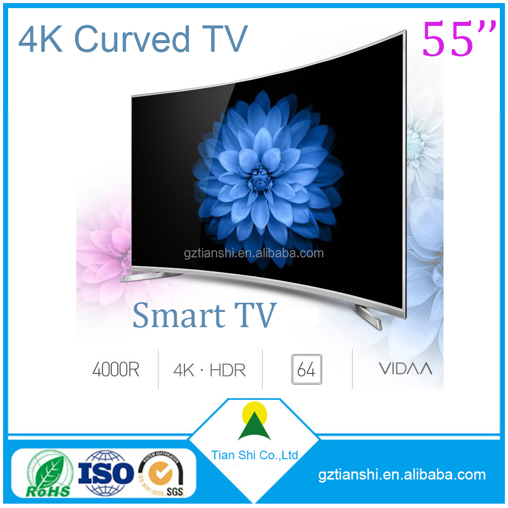 32'' 39'' 43'' 55'' inch wholesale Android tv led 4k curve TV price