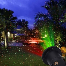 Free shipping Mini christmas lights outdoor lawn garden laser light for out door garden tree house decoration