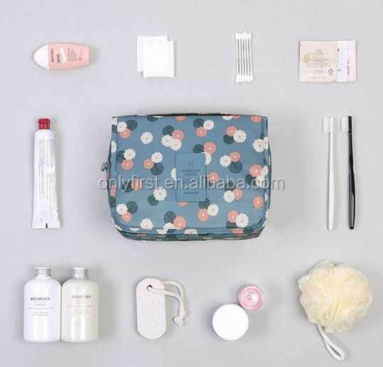 Hanging Travel Toiletry Bag Toiletries Cosmetic Organizer Kit for Men and Women