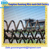 high quality dutch compound balanced weave conveyor 304 stainless steel welded wire mesh fence