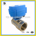 1inch mini electric valve DC12V for irrigation system,cooling/heating system,Low voltage plumbing system