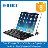 Gtide best mini keyboard aluminium bluetooth for ipad mini retina display case