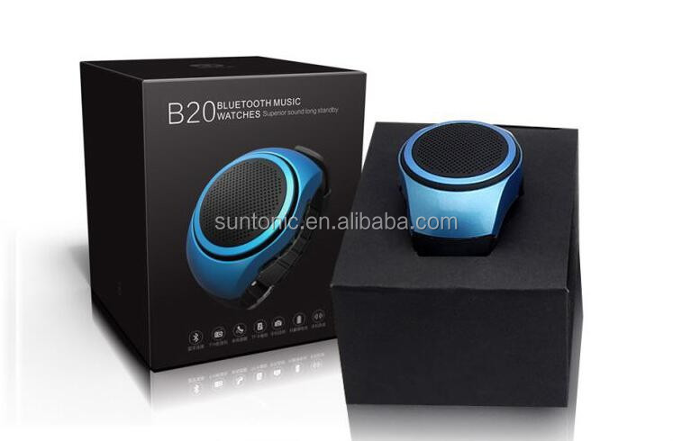 portable Wrist Watch Style Wireless Bluetooth Speaker