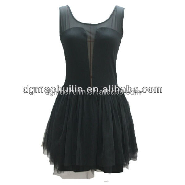 latest black summer women wholesale bandage dress