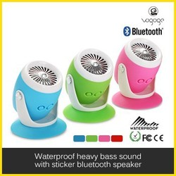 2015 Hot Selling Drum mini bluetooth speaker box charger with suction cup