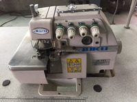 JK747 4 Good Condition New Juku used 4 thread High Quality overlock Industrial Sewing Machine good price