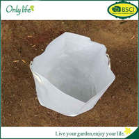 onlylife 40*50cm new thicke white non-woven garden bag tree planting bag pots