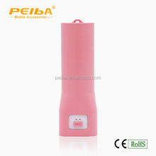 New products 2016 power bank / LED flashlight / 2600mah mini power bank for promotion