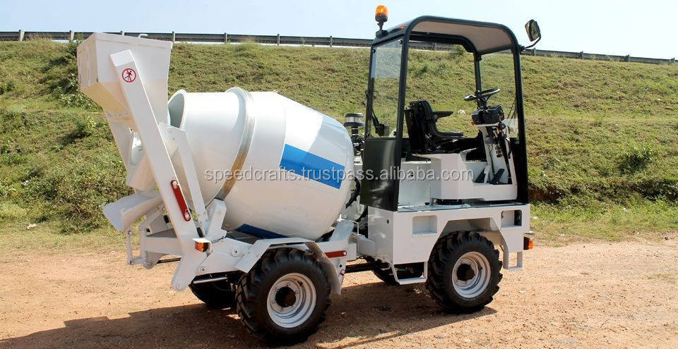 Good Quality Automatic Mobile Self-Loading Concrete Mixering Machine on Sale