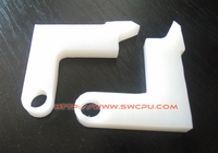 excellent performance ptfe teflon plastic machining part/component with various properties customized available