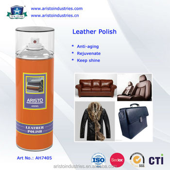 Aristo 400ml Aerosol Leather Jacket Polish