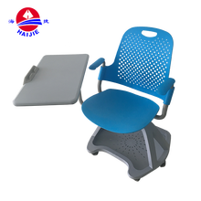 Training school student chair wheel chairs with writing pad\tablet\board