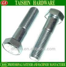 Galvanized SCM435 Hexagon Head Bolt Grade 8.8 10.9 JIS B1180