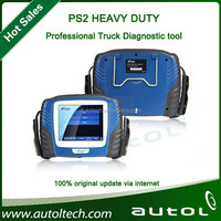 Promotion Price! 2015 Professional Heavy duty truck diagnostic tool XTOOL PS2 Truck scanner volvo trucks fault codes free update