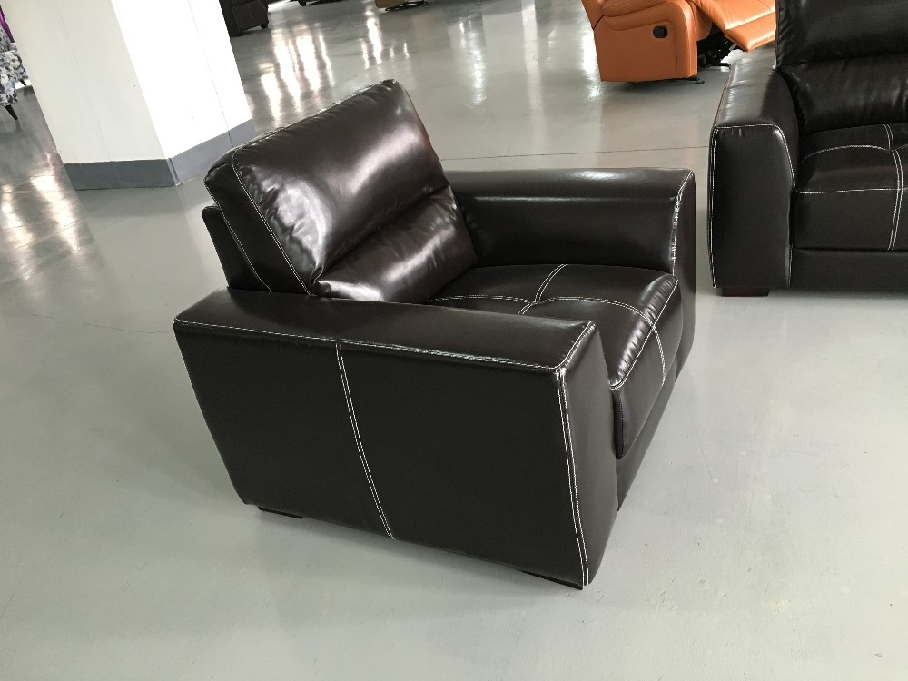 Latest living room sofa design synthetic air leather for Buy chaise lounge sofa