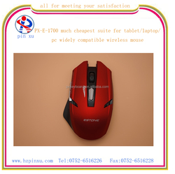 latest 2.4g ergonomic design cheap blue tooth laptop or pc slim wireless mouse