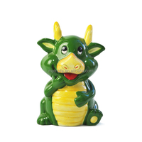 2014 New Green Dragon ceramic money bank