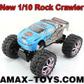 rm-08007 1 10 big wheel rc car New Rock Crawler 4WD Electric Remote Control with Shock Absorbers