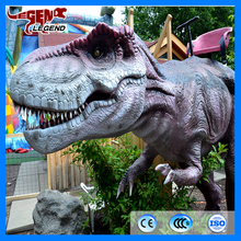 2016 hotsale mechanical animal dinosaur walking ride for kiddie