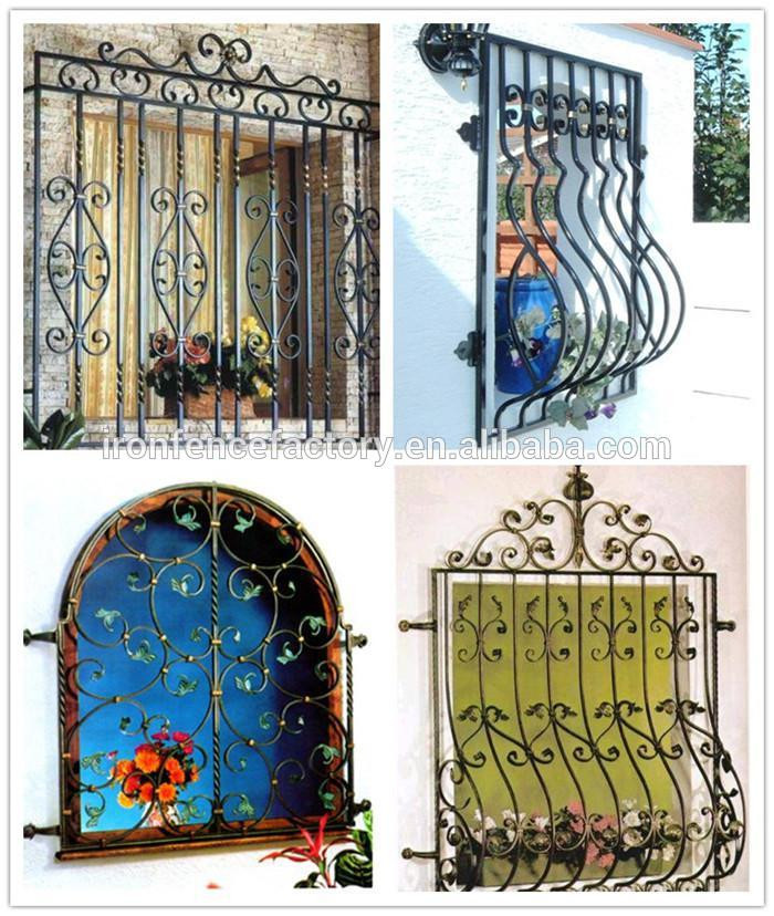 2016 factory direct price latest simple modern iron window for Window design 2016 philippines